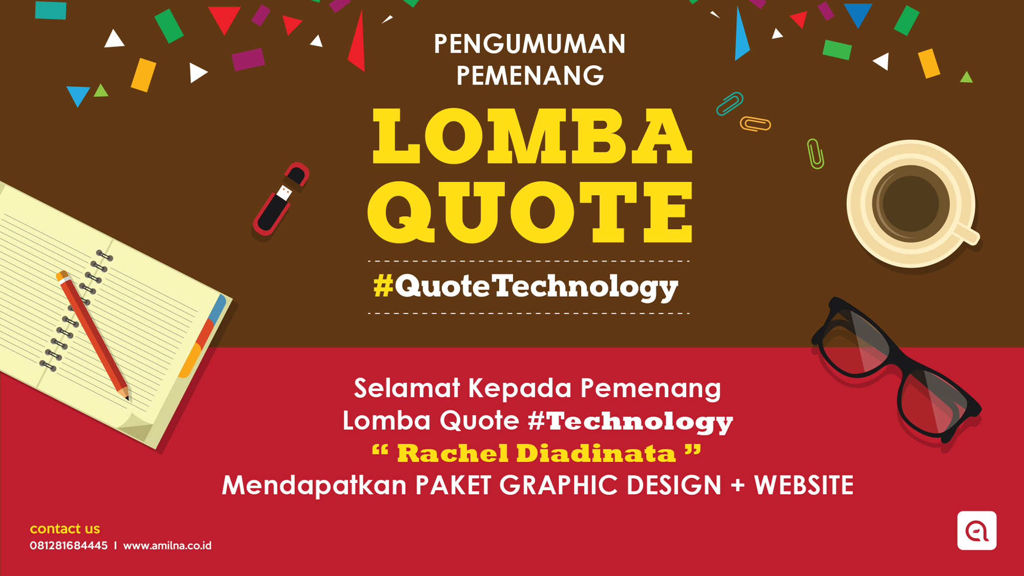 Pengumuman Pemenang Lomba Quote Technology